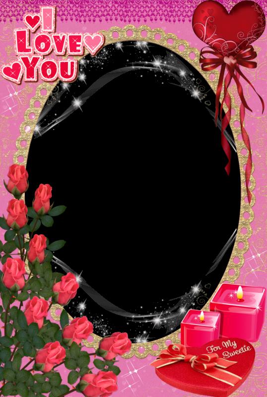 Marcos de Fotografías Digitales para el Día de San Valentín