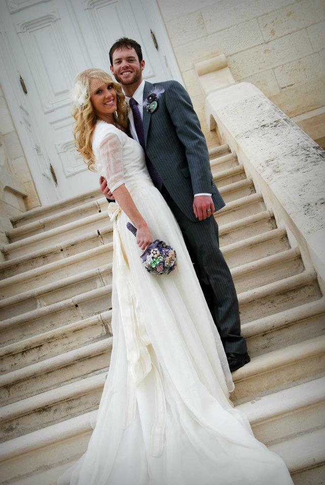 Tommy and Aubrey were married in the Manti Temple on November 26, 2011