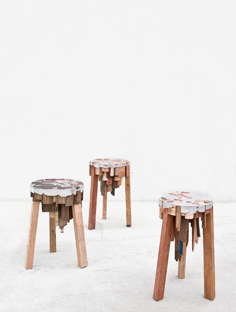Furniture by Pepe Heykoop. Photography by Annemarijne Bax (via Nest of Pearls)