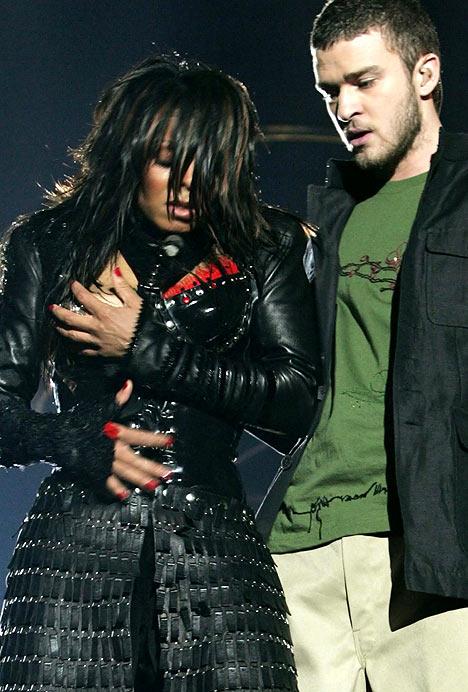 Janet Jackson Super Bowl Malfunction