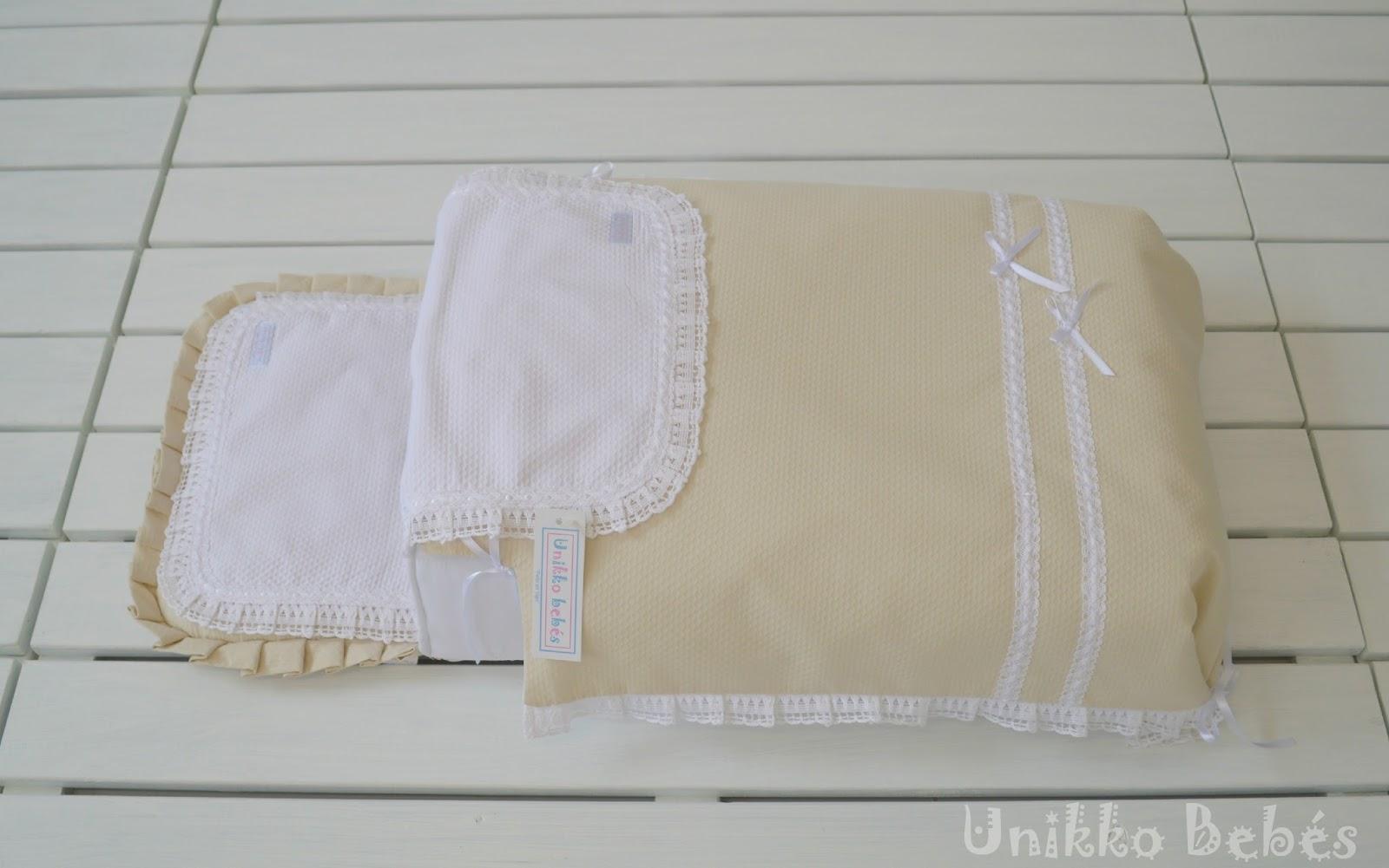 Saco capazo con colcha lencero para Bugaboo