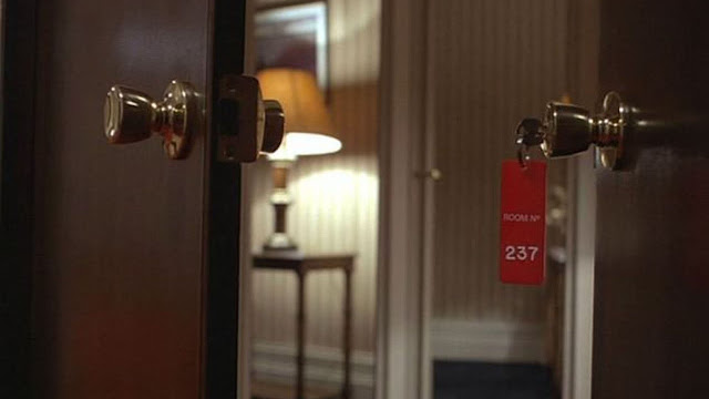 Room 237 keychain moon room