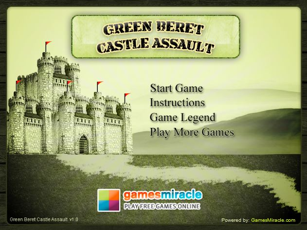 Green Beret Castle Assaul