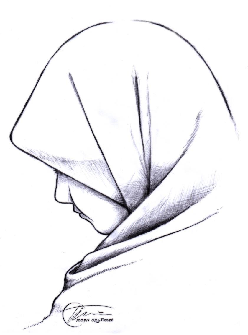 Sketsa Muslimah Kartun Dakwah Islam Kumpulan Gambar Kartun Islami