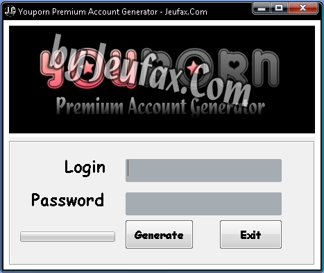 Youporn Premium Account Generator 2013 *Free Working*