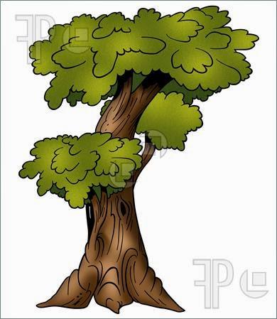 Gambar Pohon Kartun Lucu Tree Cartoon Pictures Wallpaper