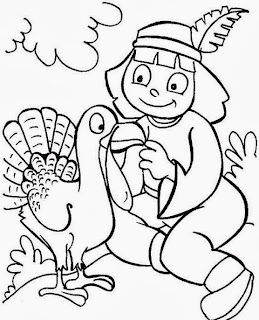 Thanksgiving Day for Coloring, part 2