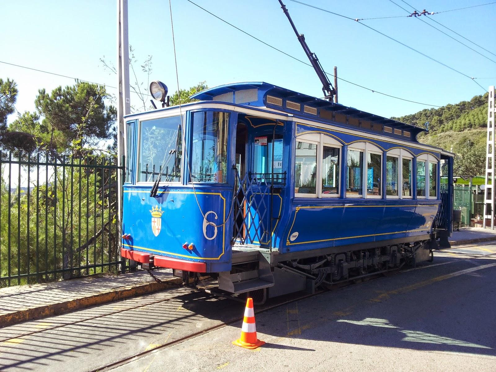Tramway Bleu de Barcelone