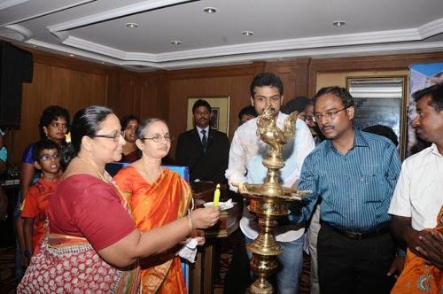 Karthi at Lysosomal Storage Disorders Support Society Event Gallery