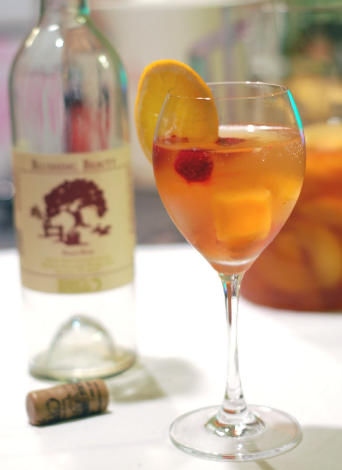 Peach Sangria Recipe — Dishmaps