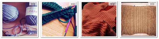 tricots encours