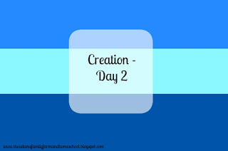 Creation Day 2 Activities