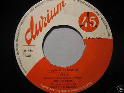 Sanremo 1959 - Aurelio Fierro - Lí per lí