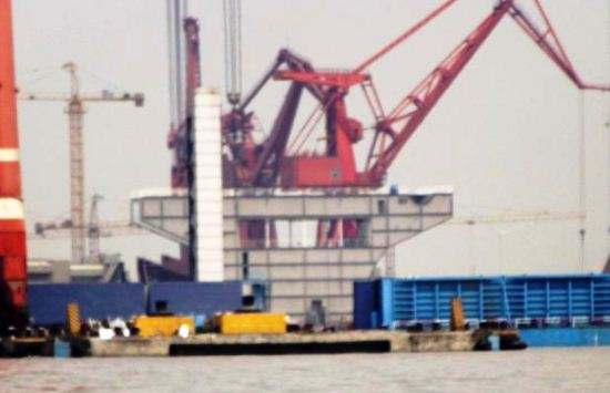 Kapal induk pertama buatan China