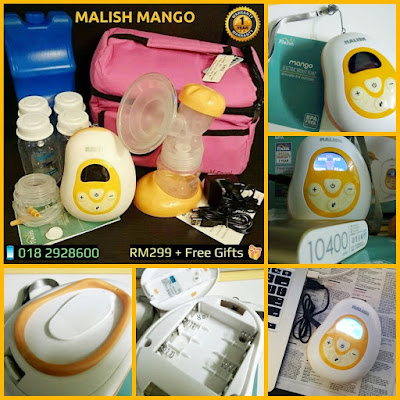 Malish MANGO Portable Auto-Electric Single Breast Pump