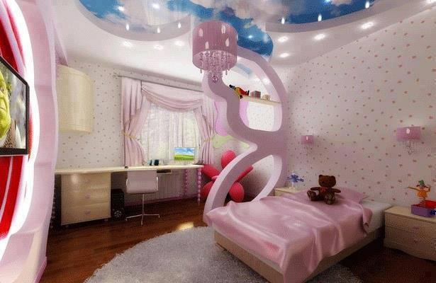Inspiration tonnant pour chambres d 39 enfants int rieur d cor decorati - Chambre de fille de 8 ans ...