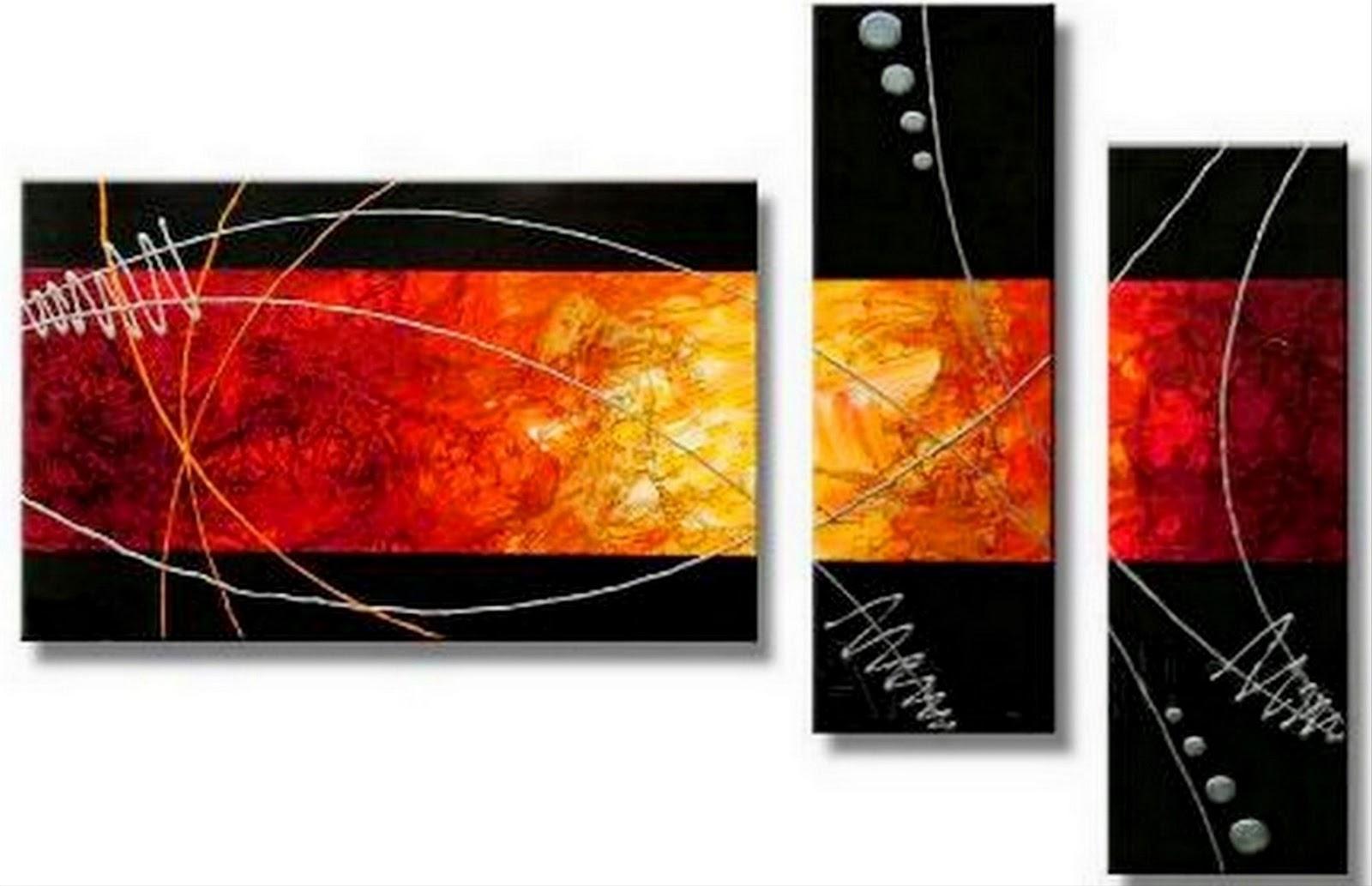 Cuadros pinturas oleos cuadros modernos abstractos for Cuadros decorativos abstractos
