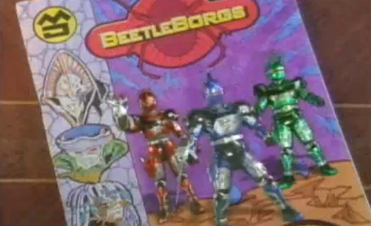 Big Bad Beetleborgs Three Typical Average Kids Become their favorite comic books superhero by a wish from a genie