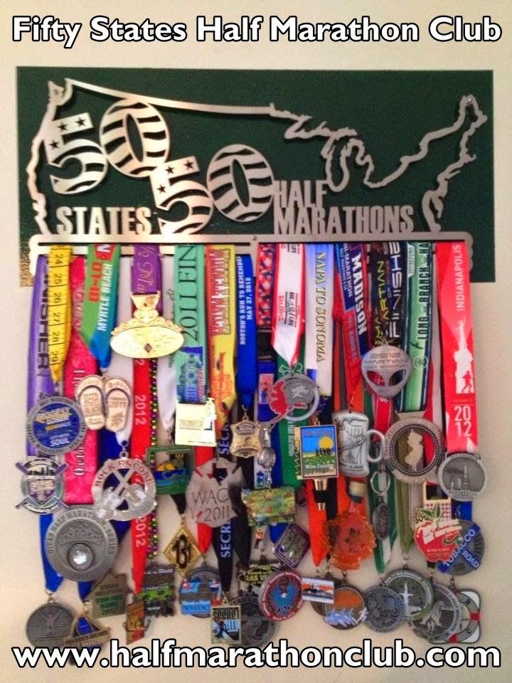 50 half marathons in 50 States
