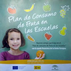 Plan de Consumo de Fruta en las Escuelas.