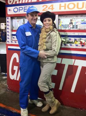 The Garretts help people in Vietnam.