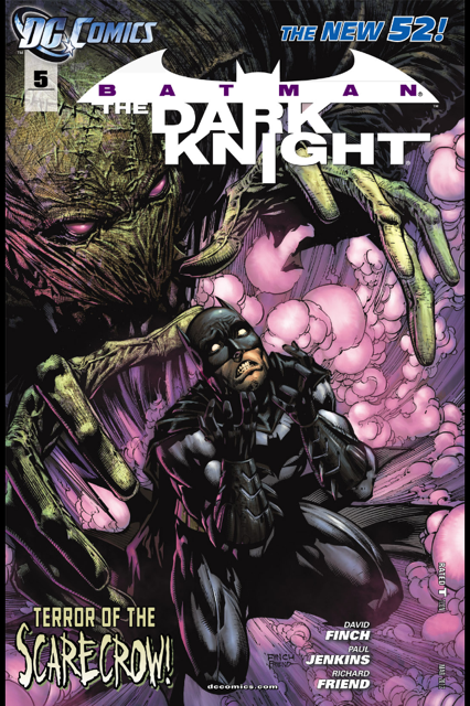 Rusted Mecha: The New 52: Batman The Dark Knight Issue 5 Review