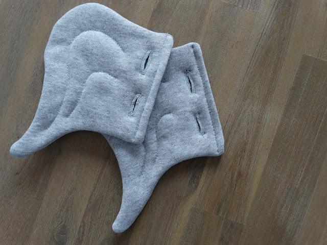 dresowe spodnie szare