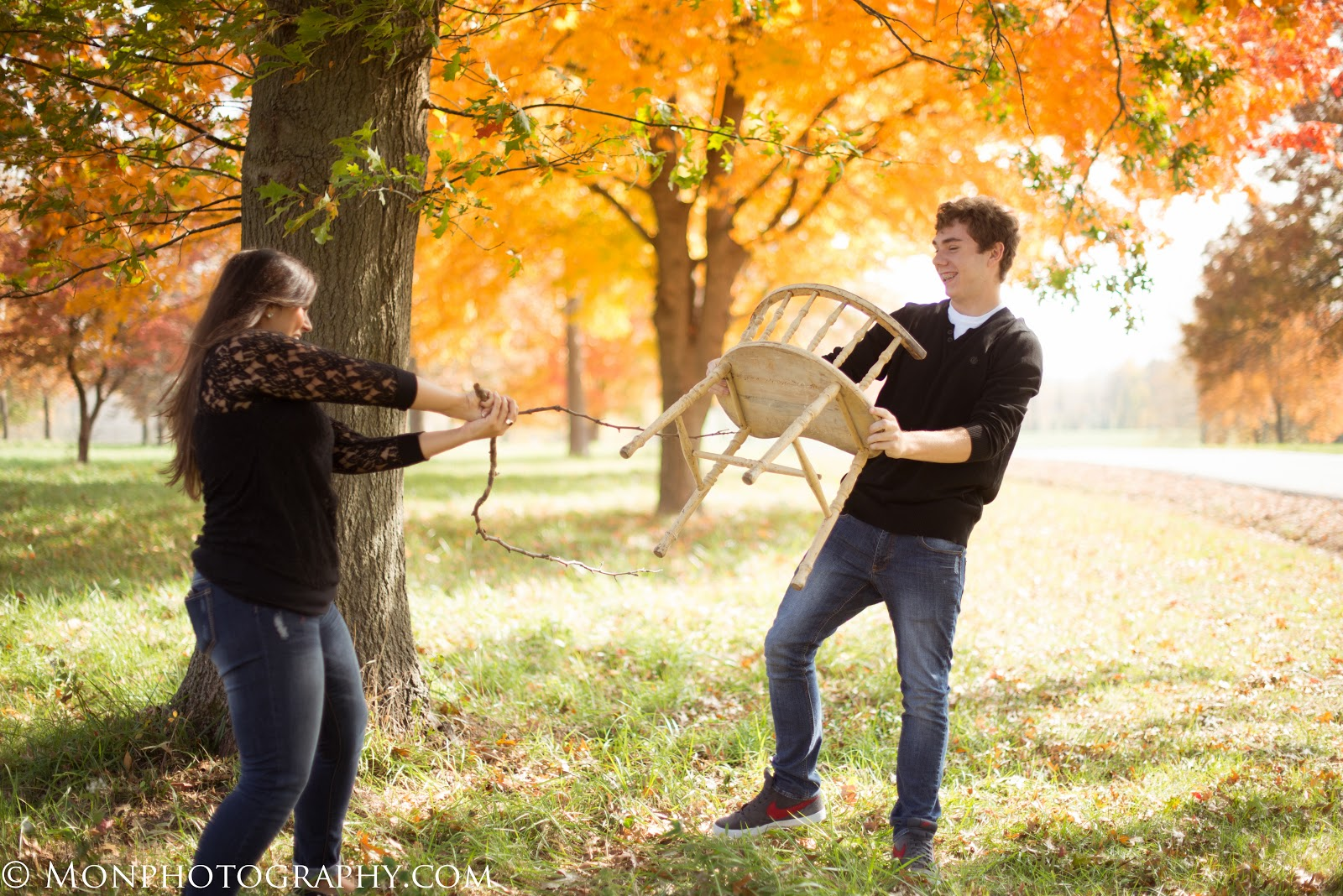 Every Year There Are Gorgeous Trees In The Fall This Brother And Sister Had Such A Fun Playful Relationship So Cute To Photograph I Love My Job