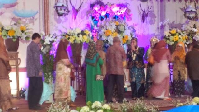 Musyrif Kalteng Hadiri Pernikahan Putri Ustadz Hilmi