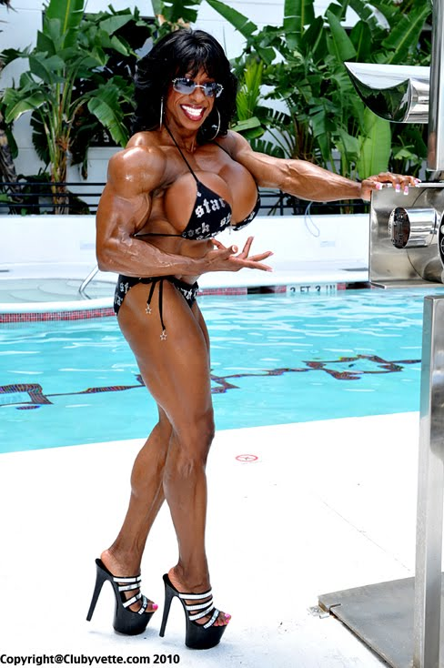 Yvette Bova Female Muscle Bodybuilding Blog