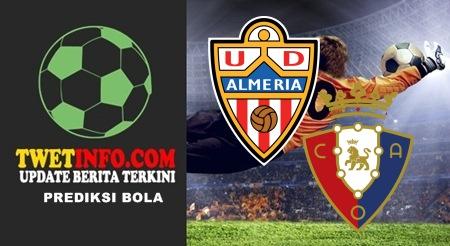 Prediksi Score Almeria vs Osasuna 07-09-2015