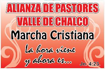 ALIANZA DE PASTORES VALLE DE CHALCO