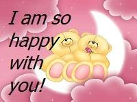 - happy -