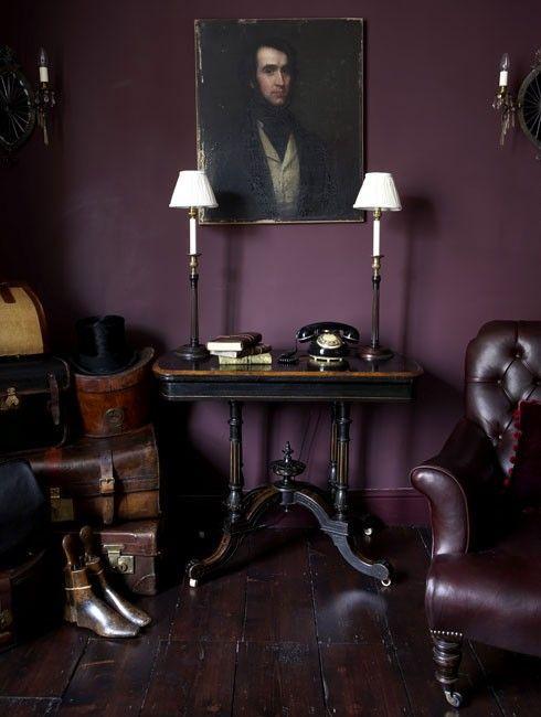 7 fotos de salas moradas, un color moderno para tu salón