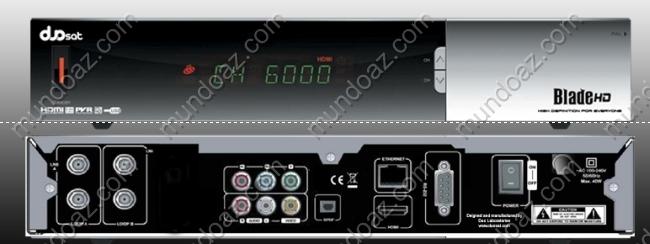 Atualização Duosat Blade HD v2.4.7 19/02