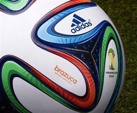 balón Brazuca adidas Mundial Brasil 2014 detalles