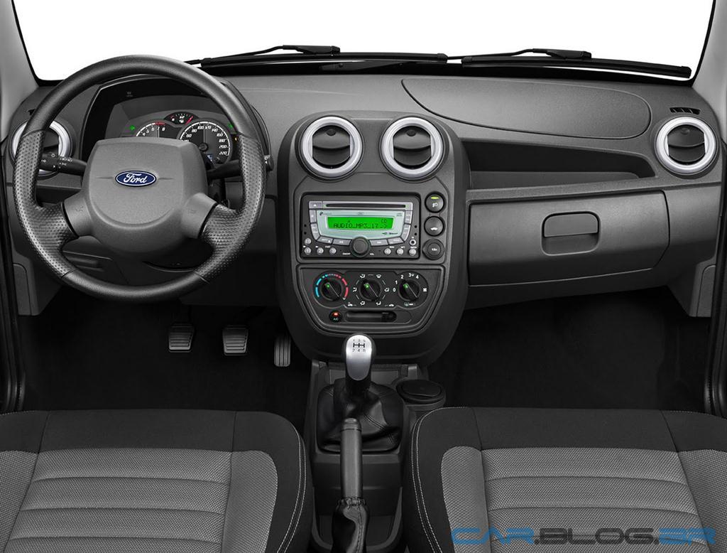 Ford ka 2012 autom vel mais barato do brasil tem pre o a partir de r reais car blog br - Interior ford ka ...