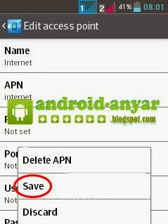 Pengaturan Internet di Android yang Benar