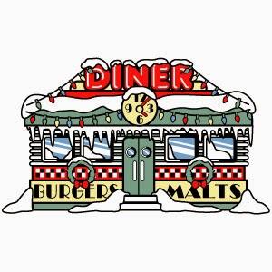 1950s Diner Clip Art