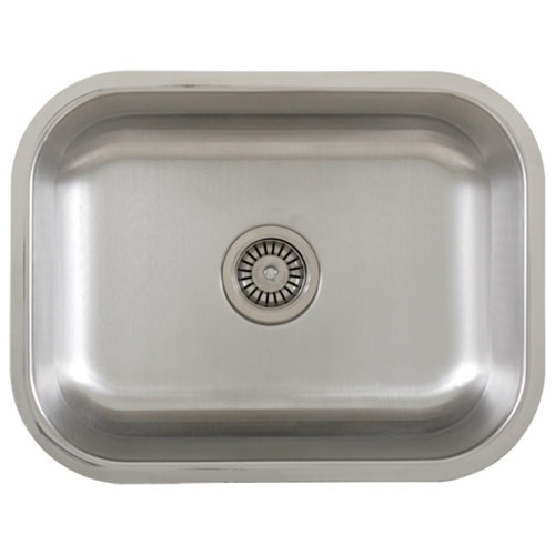 Undermount Stainless Steel Sink Single Bowl : ... . VIGO 16-Gauge Single-Basin Undermount Stainless Steel Kitchen Sink