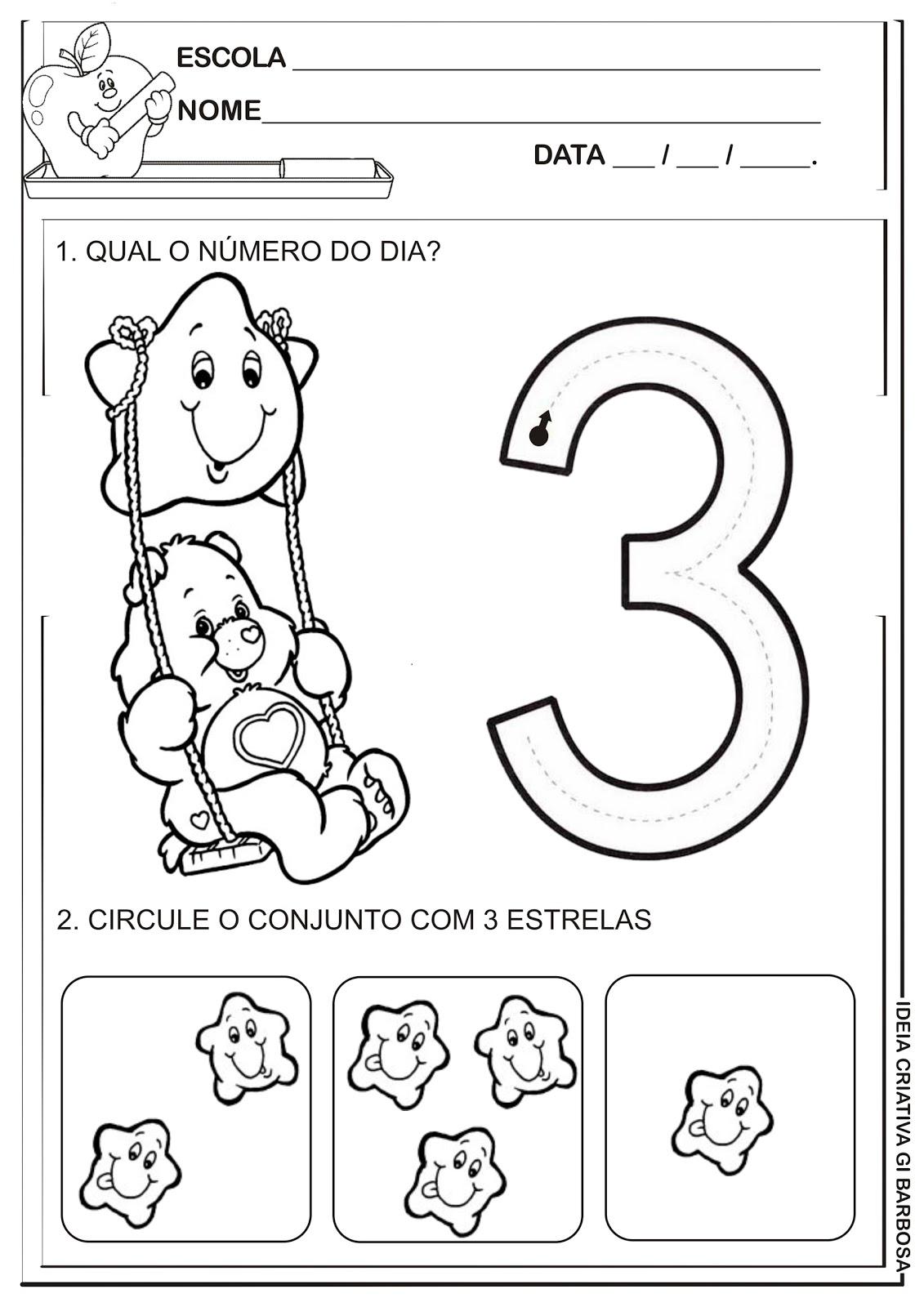 Numero 3 Sugerimos Que A Crianca Molhe O Dedinho Na Tinta E Siga O