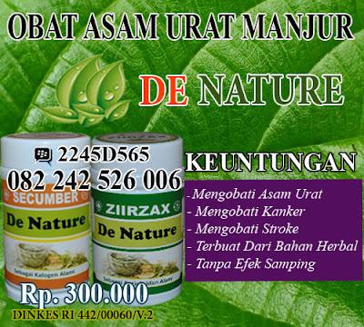 obat asam urat herbal kapsul manjur