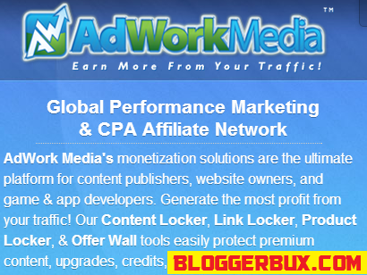 BloggerBux 50 ways to make money on doing CPA
