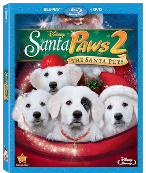Santa Paws 2 Blu-ray