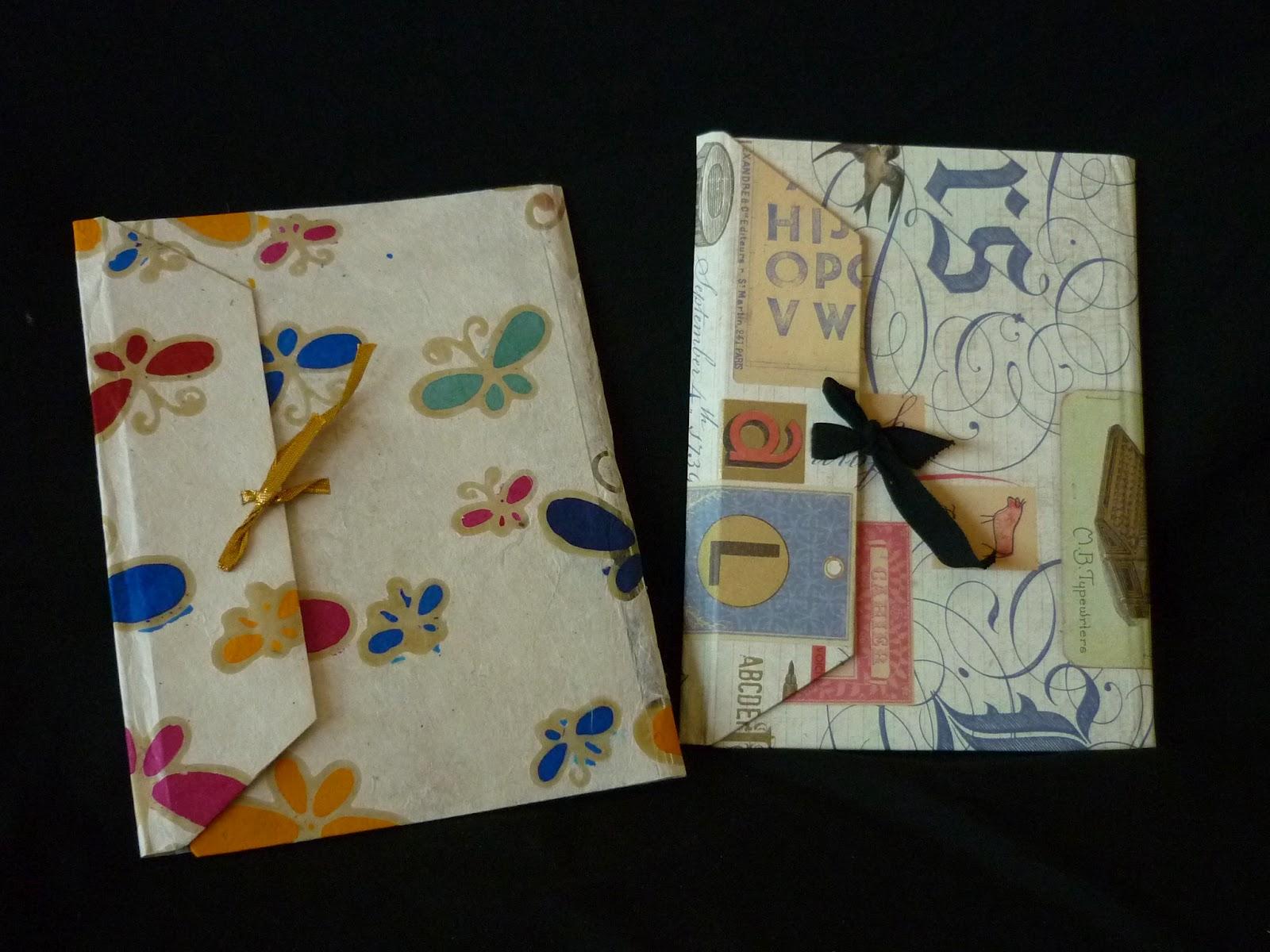 Artesan as leomar cuadernos y libretas de papel y tela 4 - Papel y telas ...