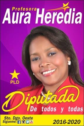 Aura Heredia Diputada