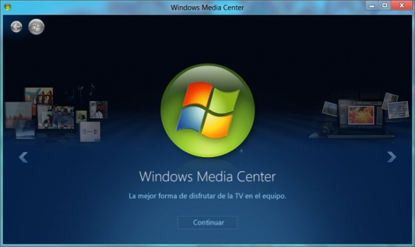 Activar Windows Media Center en Win 8 Pro