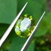 Batu Permata Green Peridot - SP1045