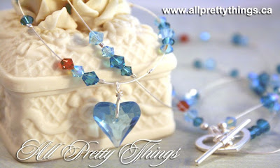 'Water': Swarovski crystals, sterling silver :: All Pretty Things