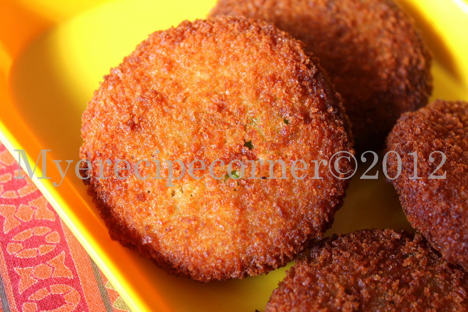 Myes kitchen vegetable cutlet recipe vegetarian cutlets forumfinder Gallery